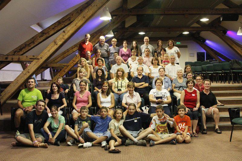 Our gathered group at Vajta